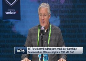 Pete Carroll: 'We're really excited' about DK Metcalf's improvements