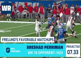 Cynthia Frelund's 10 most favorable Flex matchups | Week 16
