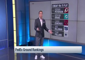 Michael Fabiano's 5 surprise RB starts in Week 6 | 'NFL Fantasy Live'