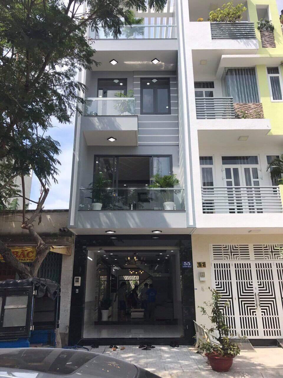 Bán Nhà Quận 7 Đường Số Phạm Hữu Lầu, Phường Phú Mỹ. 4x18m 1 Trệt 3 Lầu ST 5PN