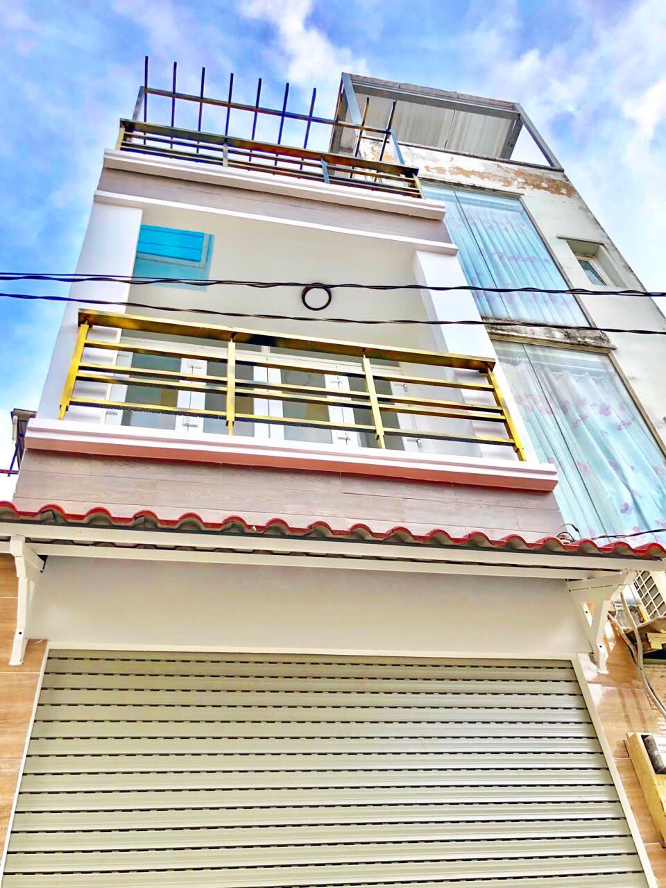 Bán Nhà Quận 7 Hẻm 487 Huỳnh Tấn Phát. Giá Chỉ 2.85 Tỷ Nhà Hẻm Xe Hơi, liền kề PMH