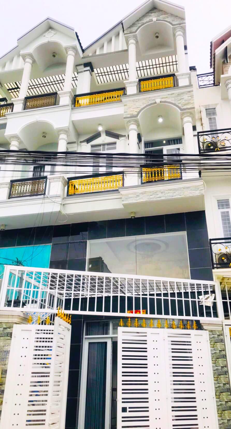 Bán nhà Nhà Bè hẻm 1979 Huỳnh Tấn Phát DT 4x16m