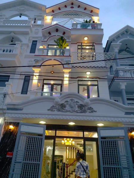 Bán nhà KDC Phú Xuân Nhà Bè 5x18m 3 lầu ST