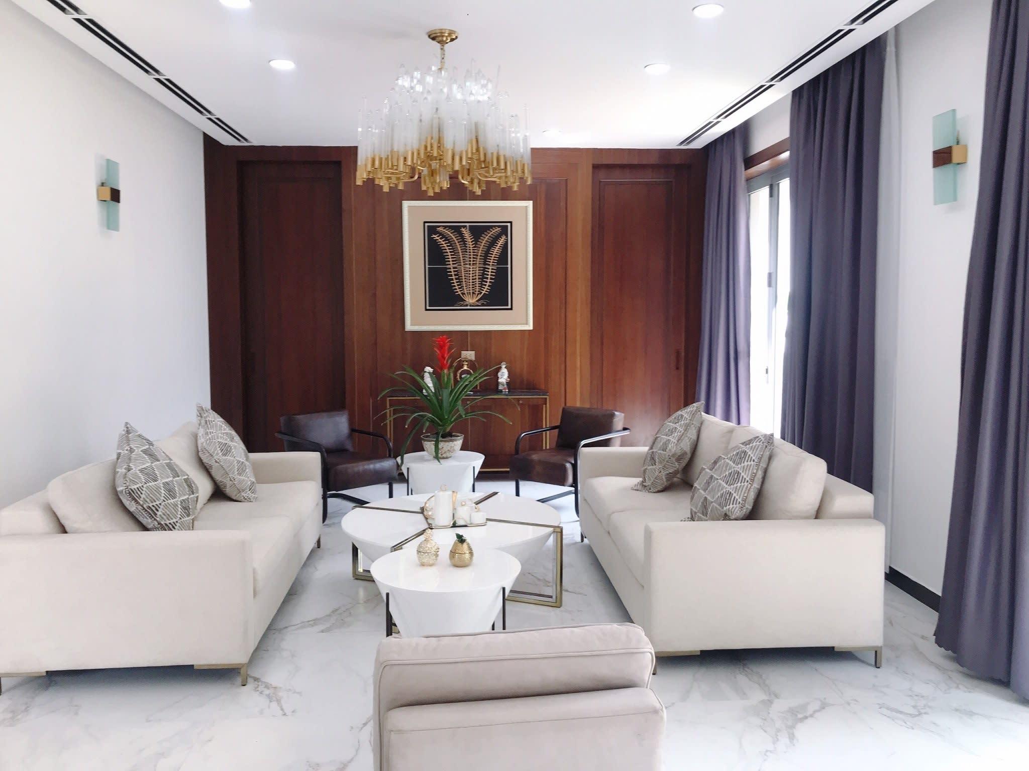 Biệt Thự Khu VIP Trần Trọng Cung, DT 521m2, View Hồ Bơi Và Công Viên Đẳng Cấp. Giá 45 tỷ
