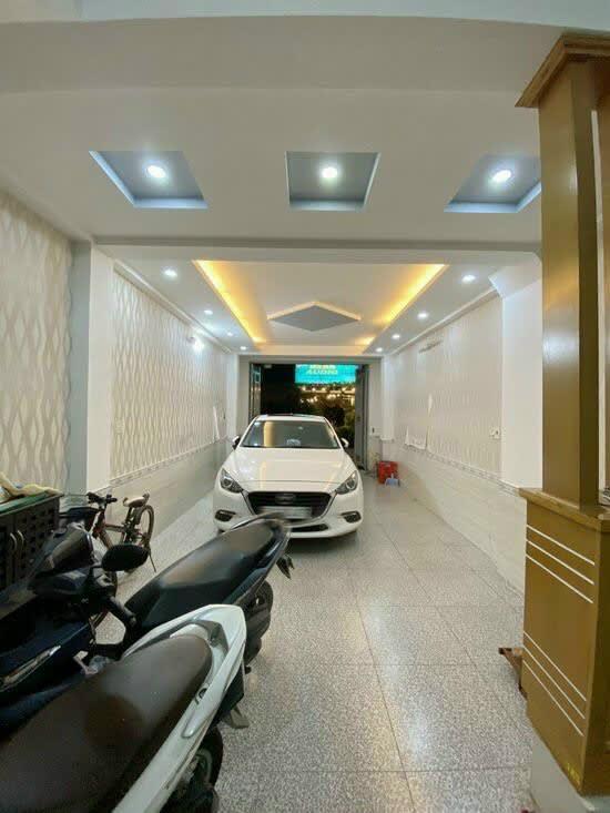 Bán Nhà Gò Ô Môi – Đường 8m – DT 4x16m – 4 Tầng Có Gara | 7.3 Tỷ