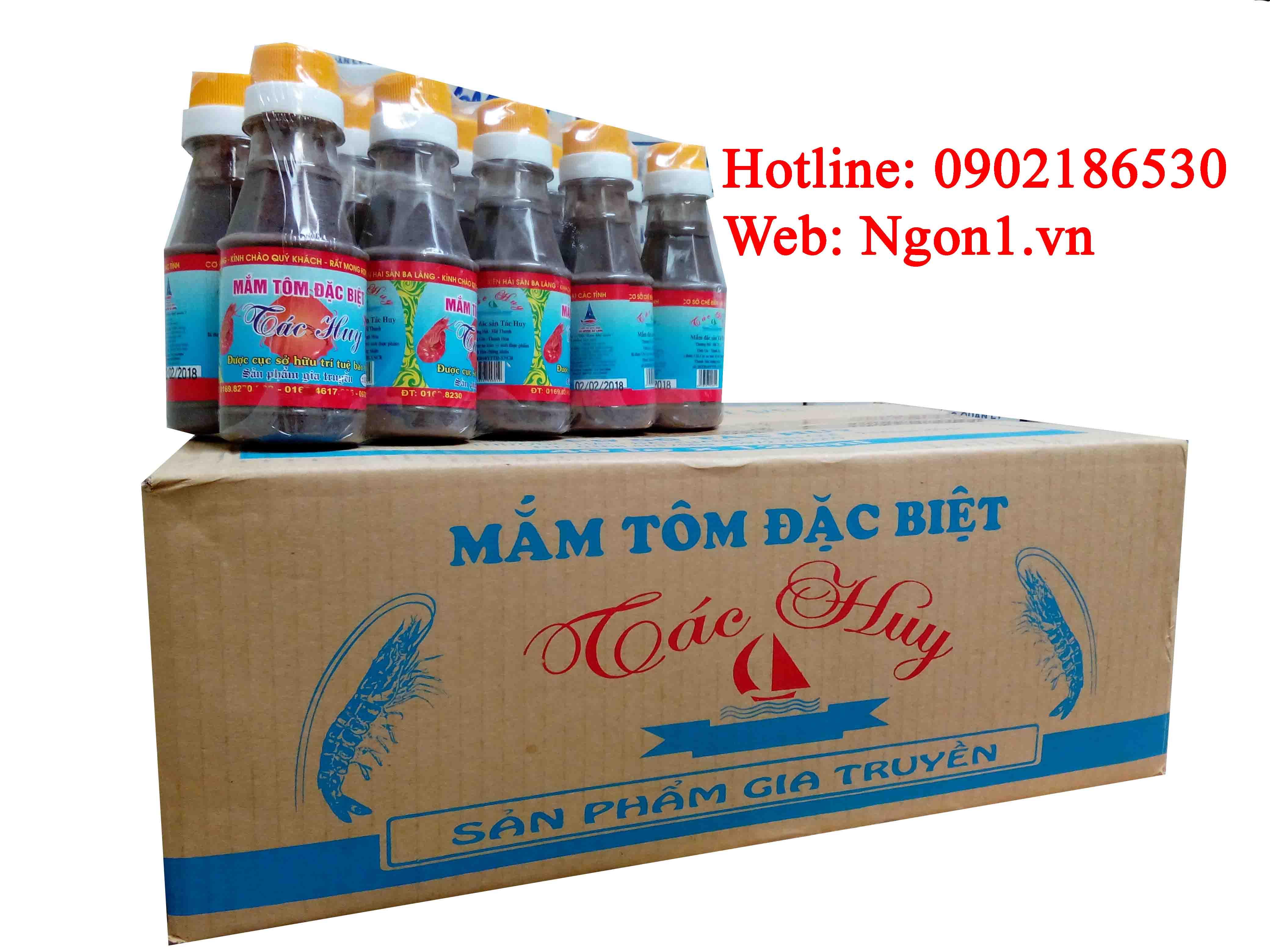 Mắm tôm đặc sản Thanh Hóa (chai 120ml)