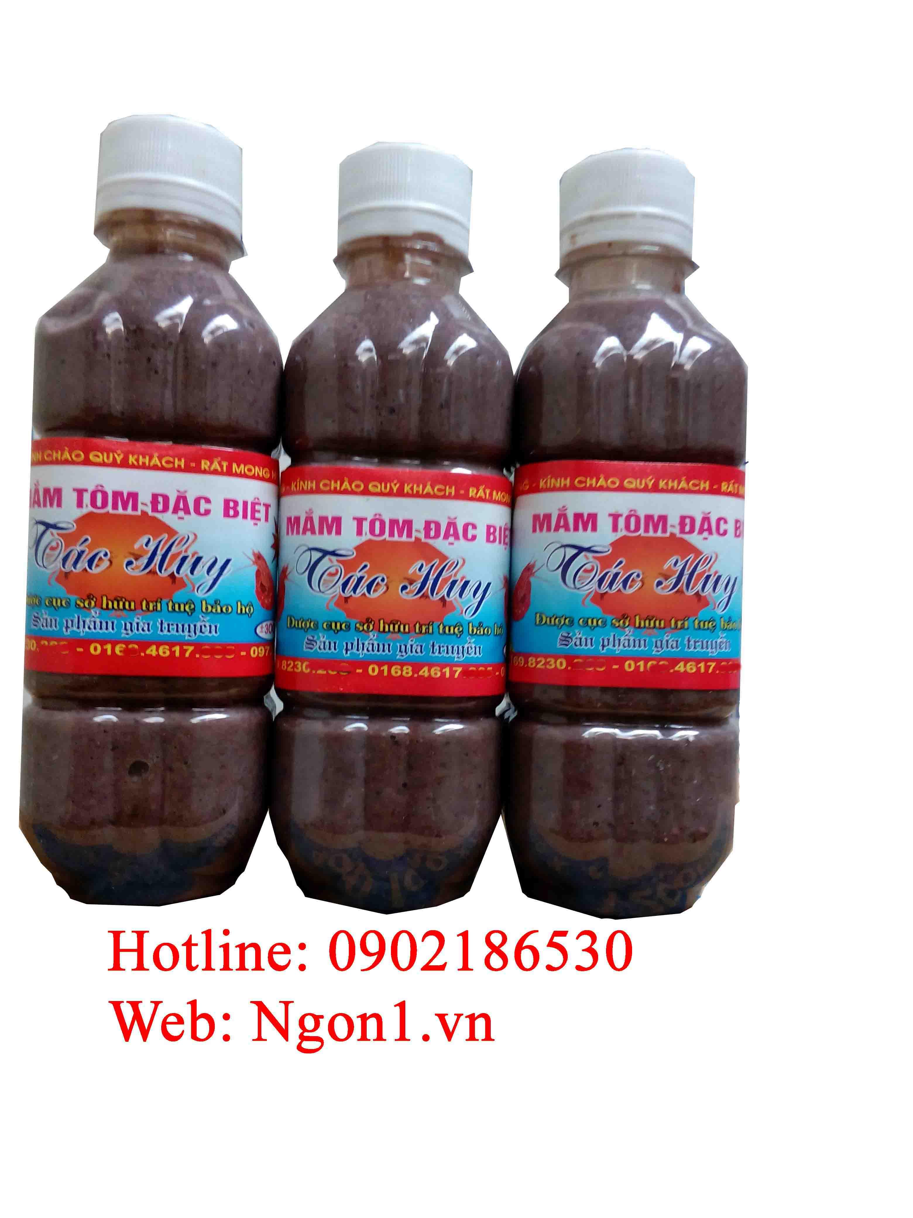 Mắm tôm đặc sản Thanh Hóa (chai 300ml)