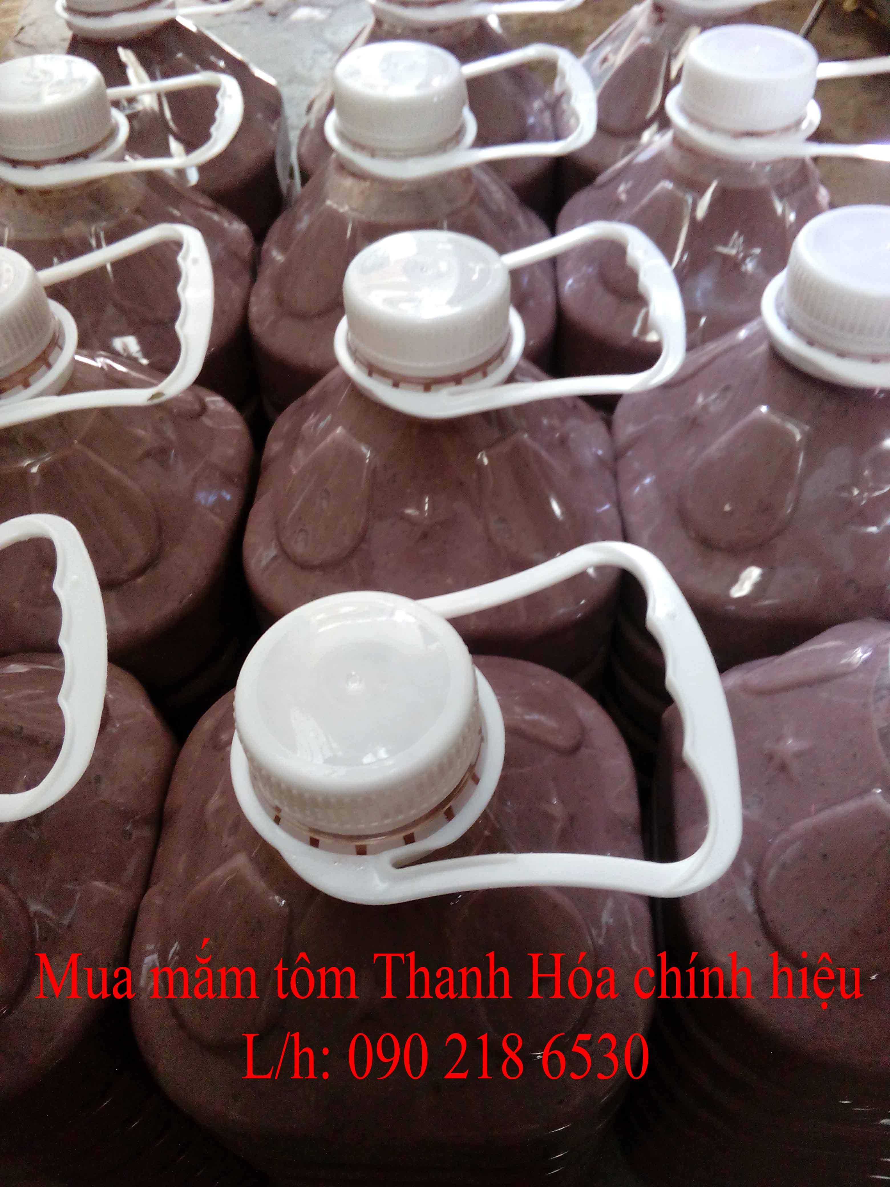 Mắm tôm đặc sản Thanh Hóa (can 5l)