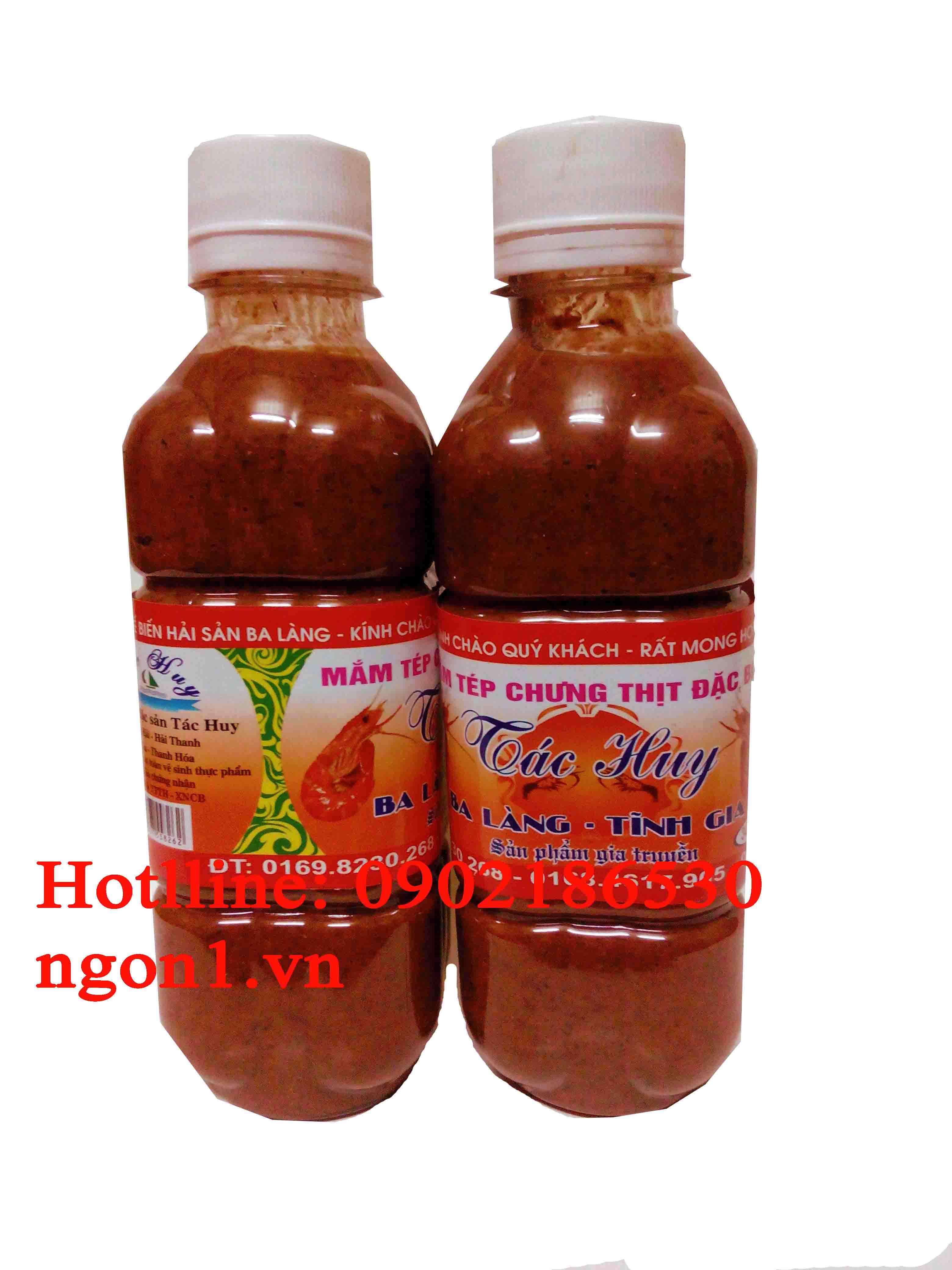 Mắm tép chưng thịt đặc sản Thanh Hóa (chai 300ml)