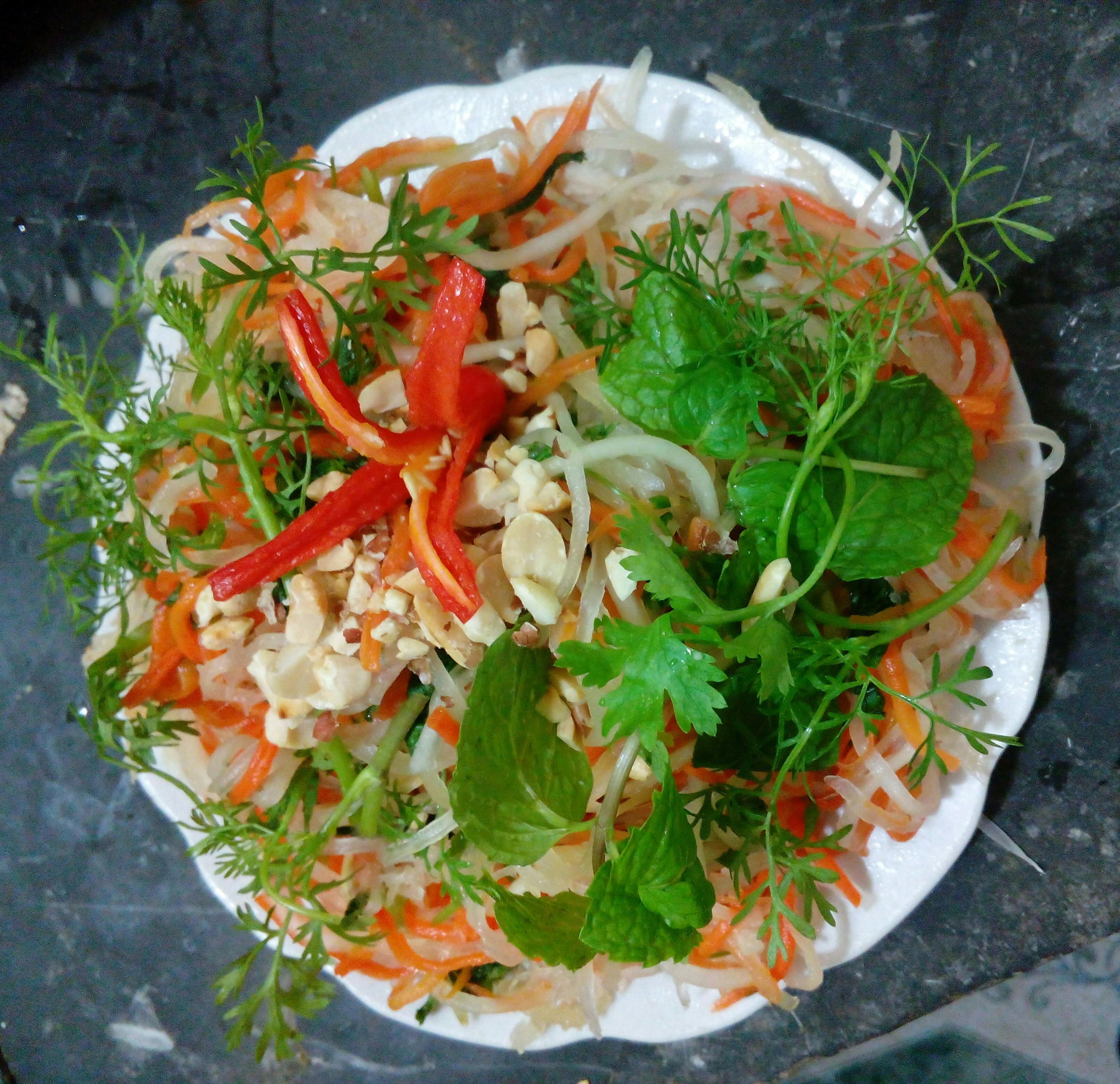 Rong sụn gai chuyên dùng làm nộm, gỏi, salad