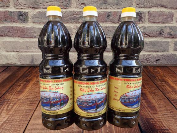 Nước mắm cốt cá cơm nguyên chất đặc sản Ba làng - Thanh Hóa (chuẩn vị mắm truyền thống)