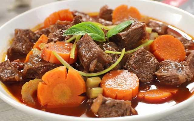 Bật mí cách hầm thịt bò nhanh mềm và ngon nhất