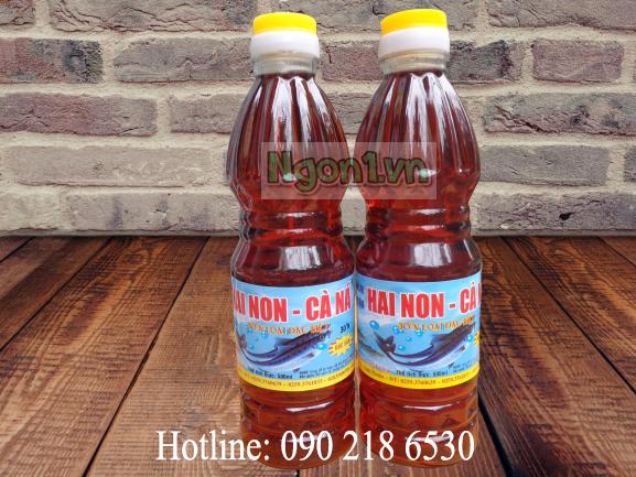 Nước mắm Hai Non - Cà Ná 30 độ đạm (6 chai 500ml/thùng)