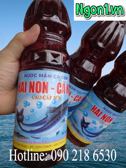 Nước mắm Hai Non Cà Ná 32 độ đạm chai 1l - Hotline: 0902186530