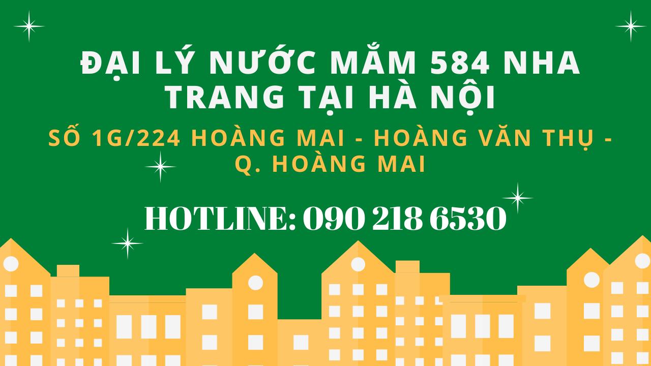 Địa chỉ bán nước mắm 584 Nha Trang uy tín nhất | Đại lý nước mắm 584 Nha Trang tại Hà Nội