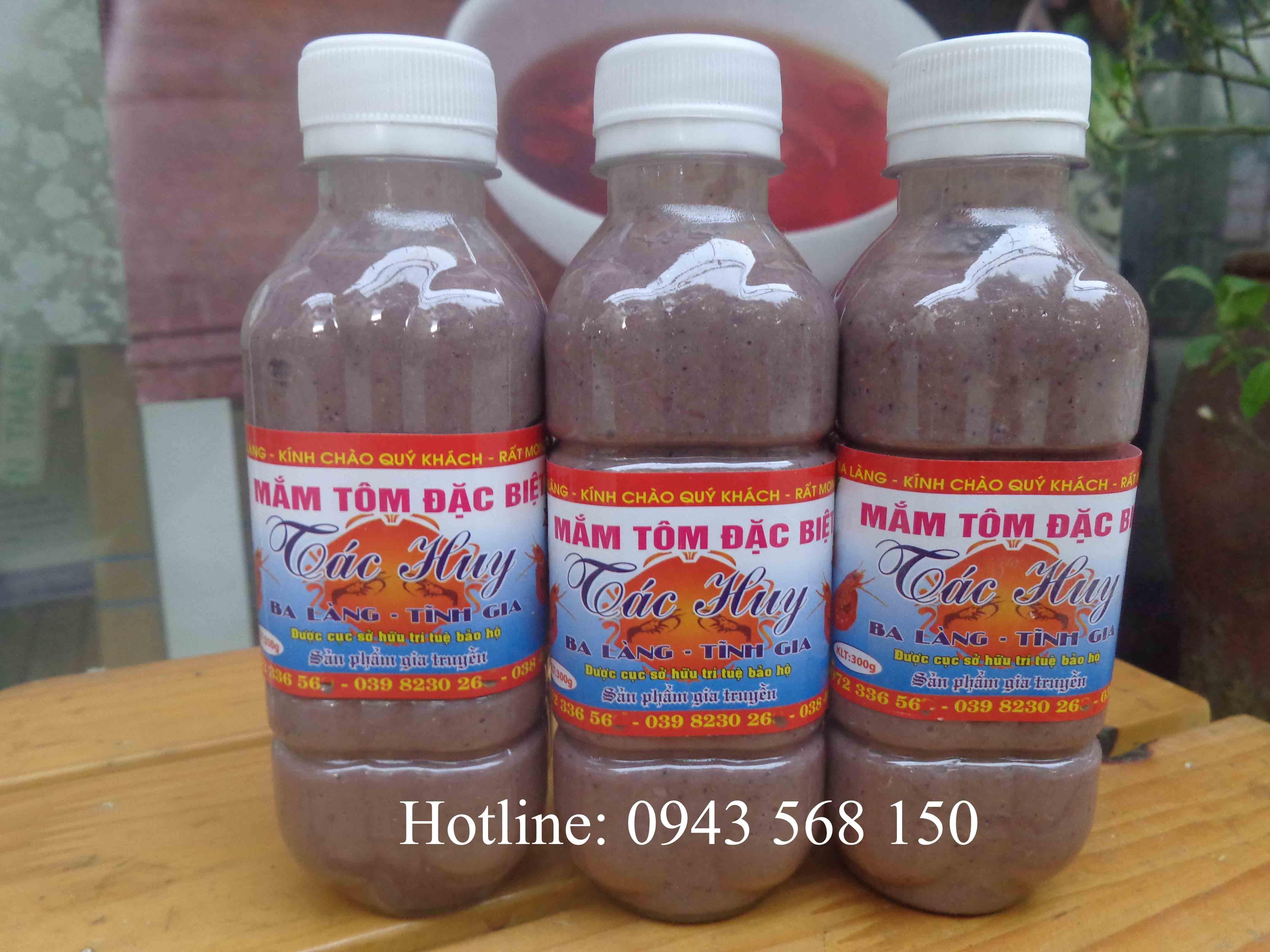 Mắm tôm ngon đặc sản Thanh Hóa (chai 300ml)