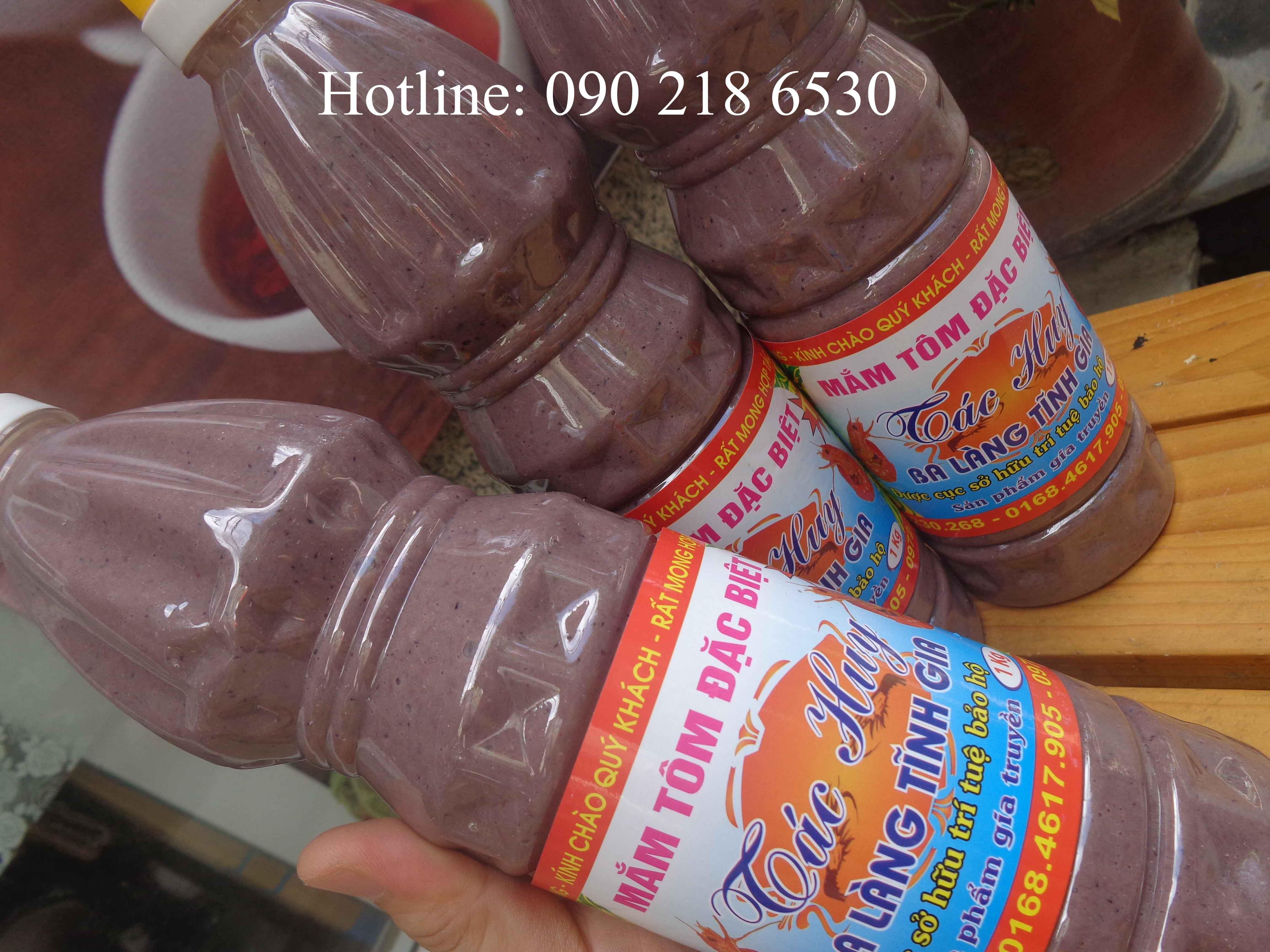 Mắm tôm ngon đặc sản Thanh Hóa (chai 1l)