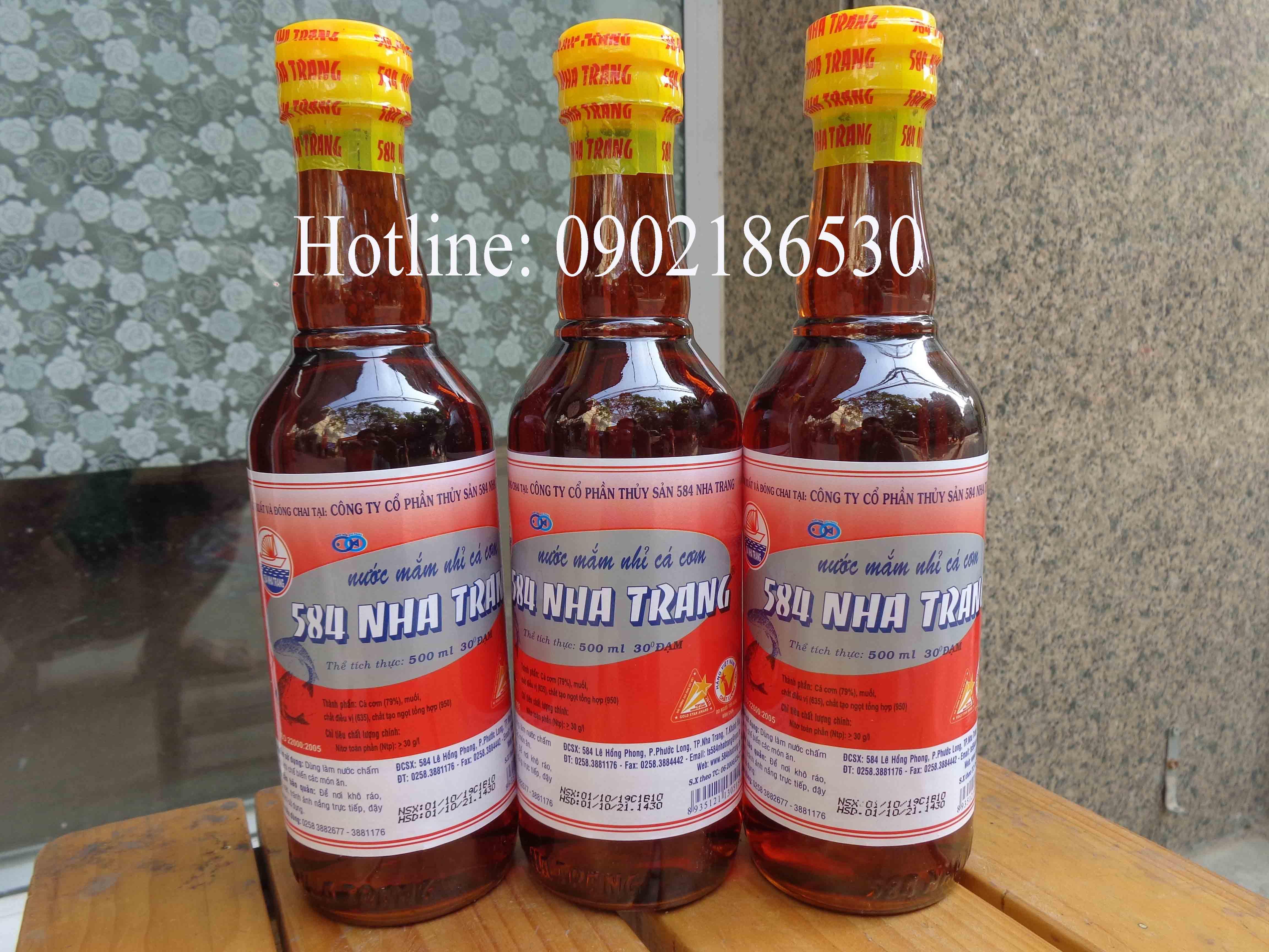 Nước mắm Nha Trang 30 độ đạm (chai nhựa)