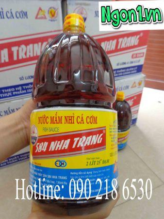 Nước mắm 584 Nha Trang 2l 25 đạm (P225) sử dụng gia đình hoặc làm hàng