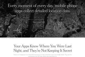 screenshot of Your Apps Know Where You Were Last Night, and They're Not Keeping It Secret