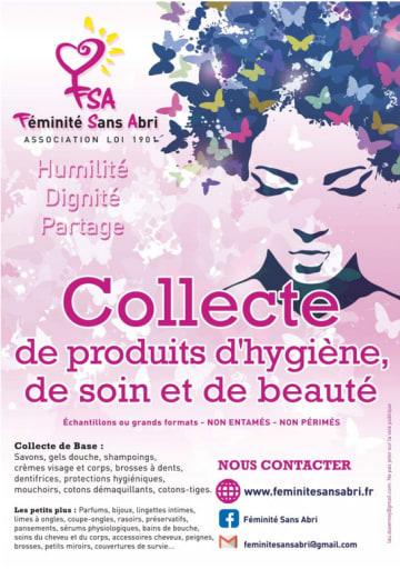 Precious Prana s'investi pour l'association Fémininité Sans Abris en Essonne le 5 décembre 2019, par Precious Prana