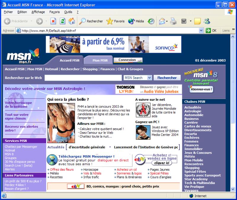 MSN France donne une nouvelle définition au contrôle