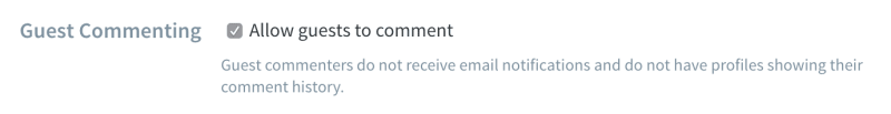 Guest commenting in Disqus