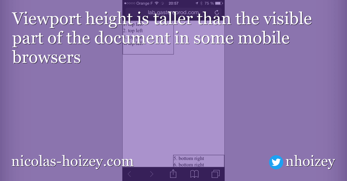 Fit to height in Android Chrome - HTML & CSS - The SitePoint