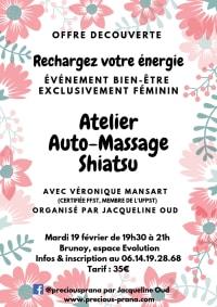 Atelier auto-massage shiatsu le 19 février 2019, par Precious Prana