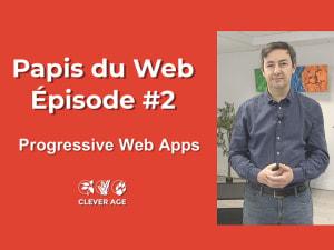 """Cover slide from the talk """"Les Progressive Web Apps (PWA)"""""""