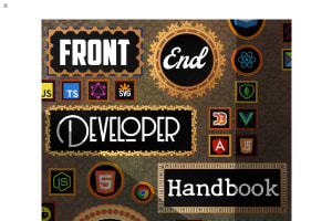 screenshot of Front-end Developer Handbook 2019