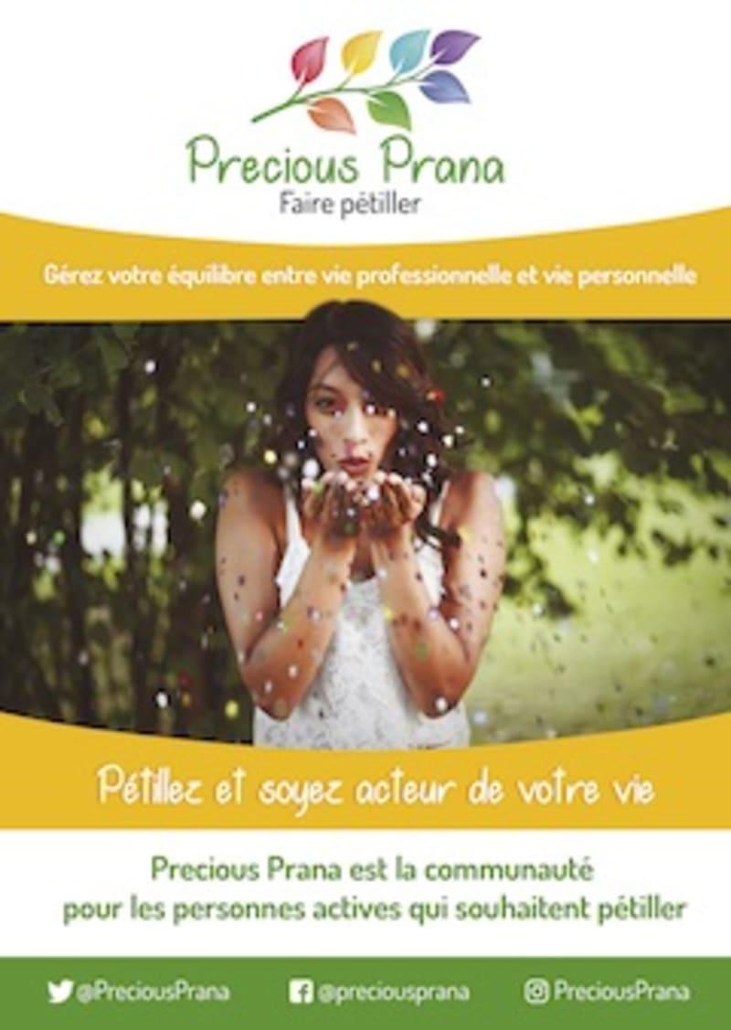 couverture du flyer Precious Prana
