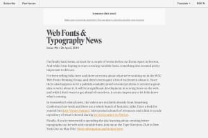 screenshot of Progressive Font Enrichment: reinventing web font performance
