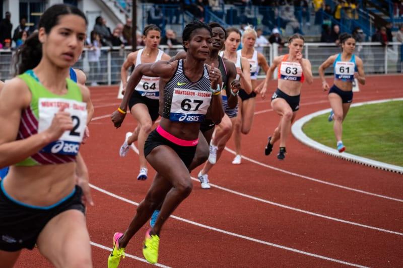 800m féminin