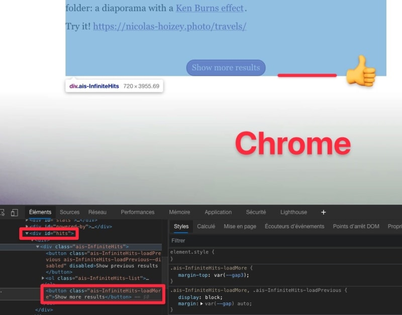 Everything is fine in Chrome
