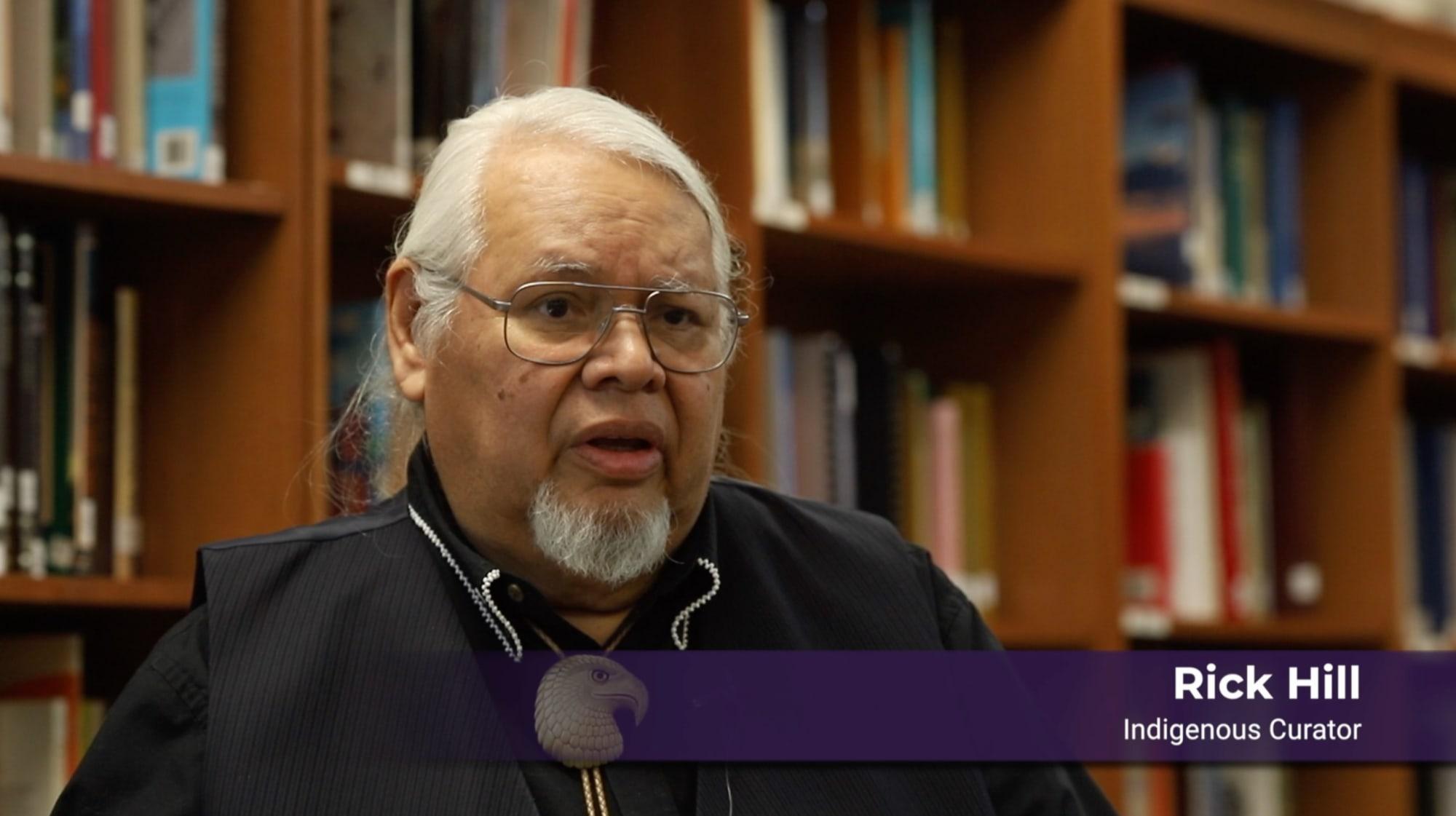 Rick Hill - Indigenous Curator