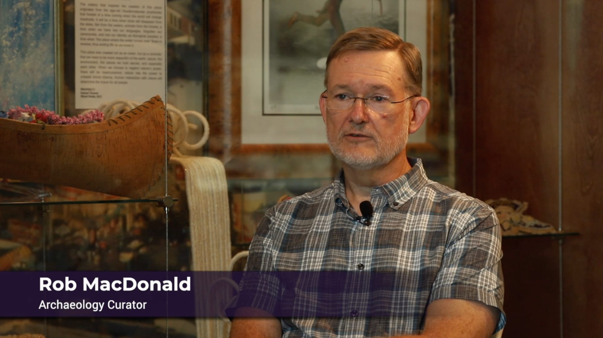 Rob MacDonald - Archaeology Curator