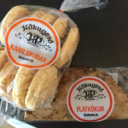 Cookies and bread in their packaging