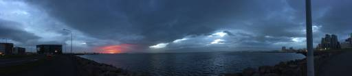 Midnight Reykjavik Sunset