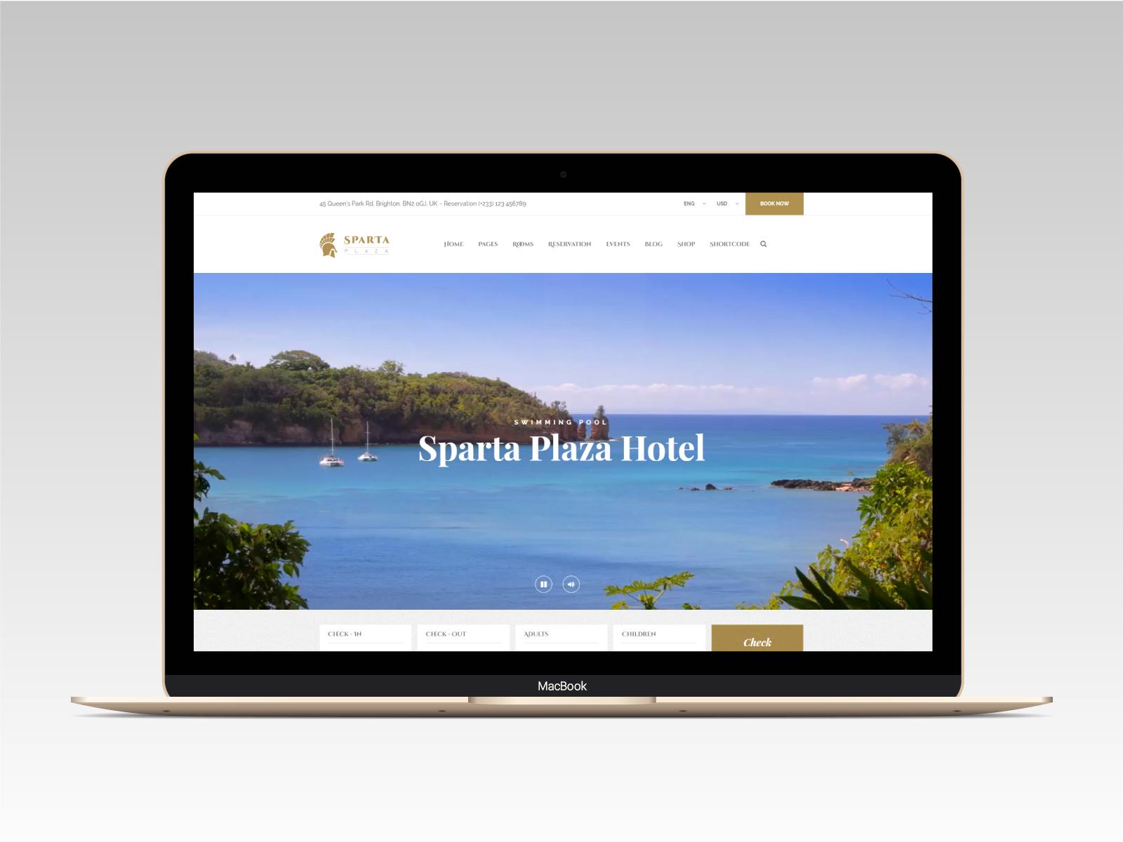 Sparta   Hotel & Resort HTML5 Template - 7