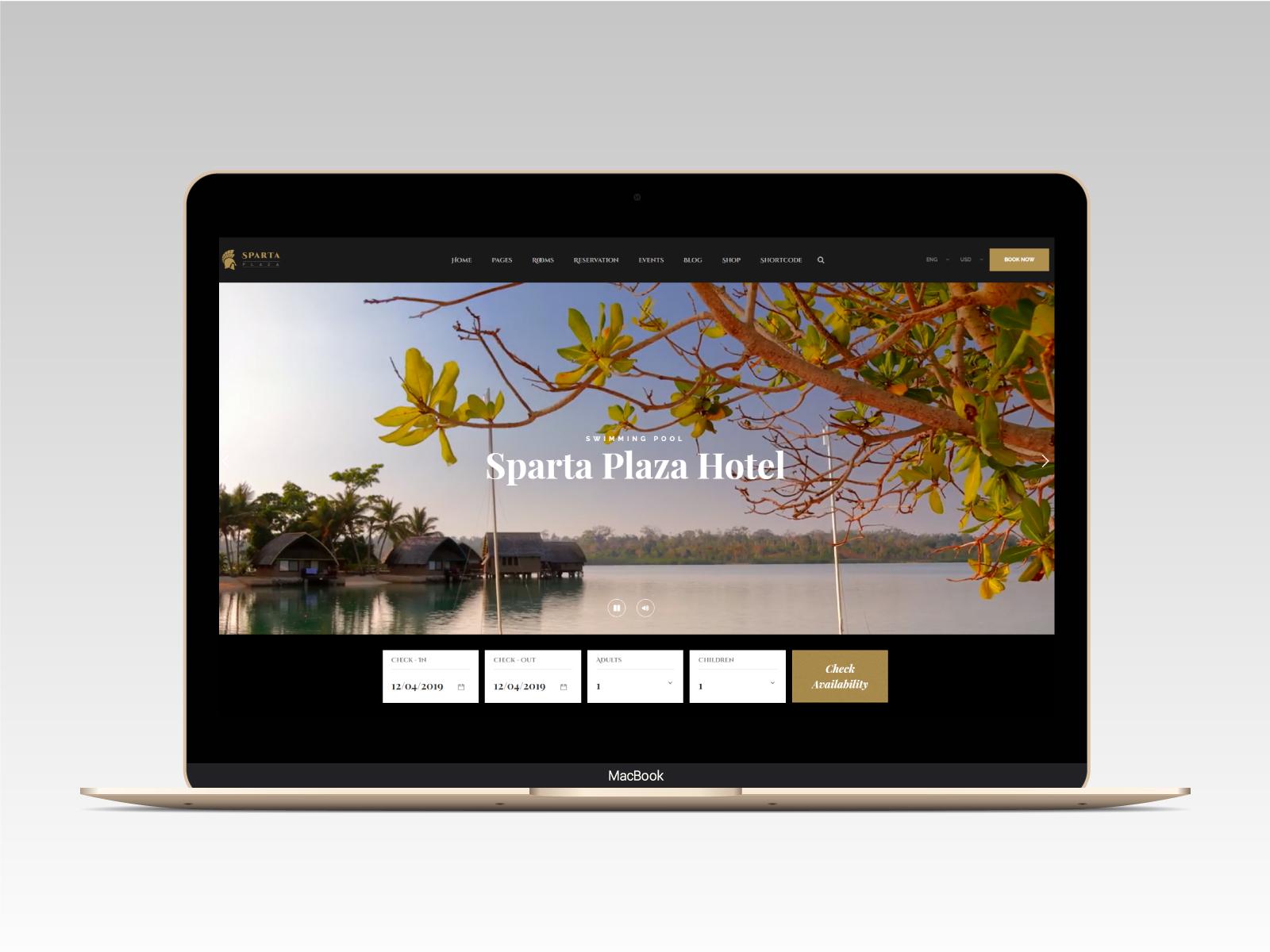 Sparta   Hotel & Resort HTML5 Template - 8