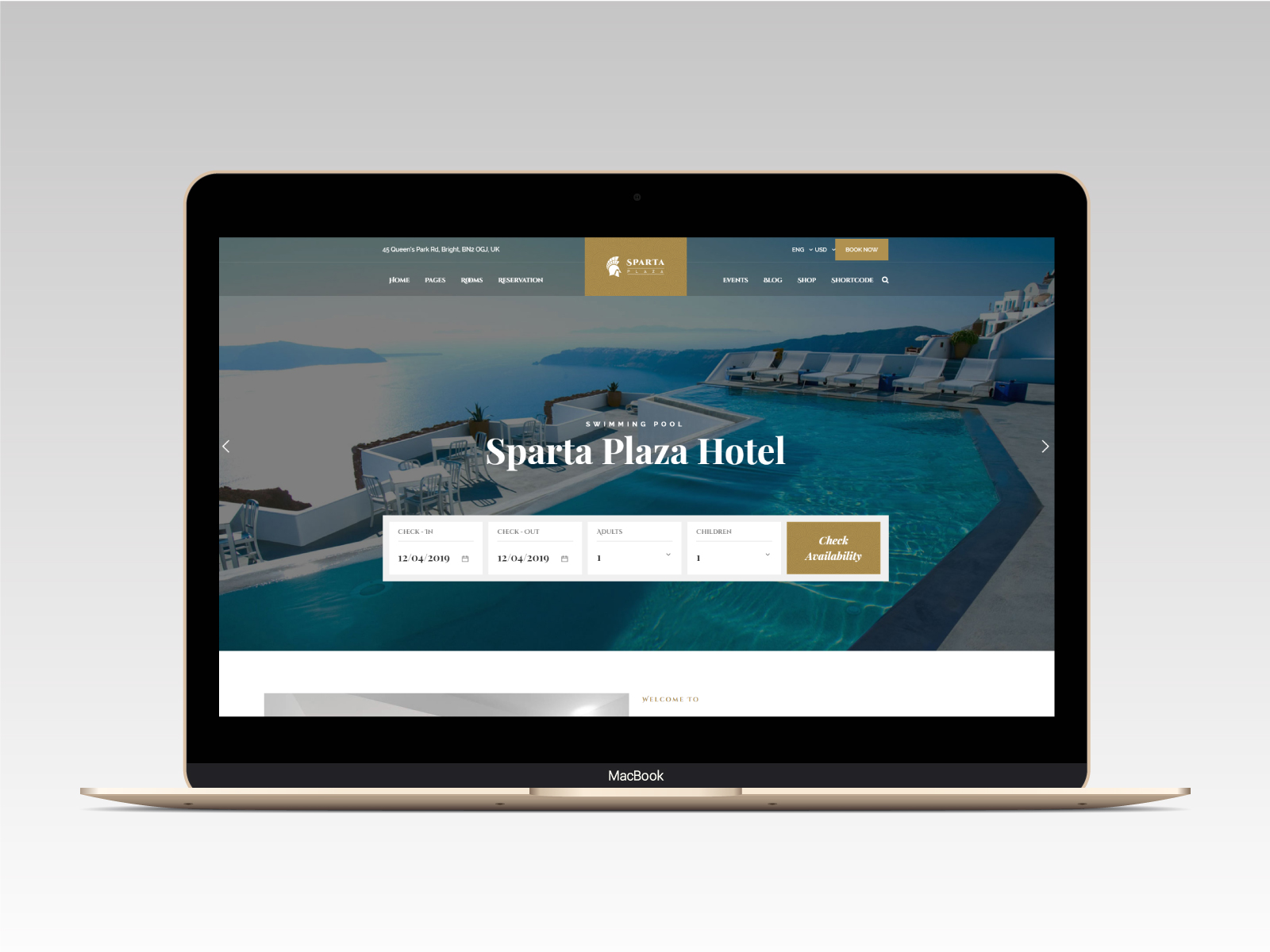 Sparta   Hotel & Resort HTML5 Template - 11