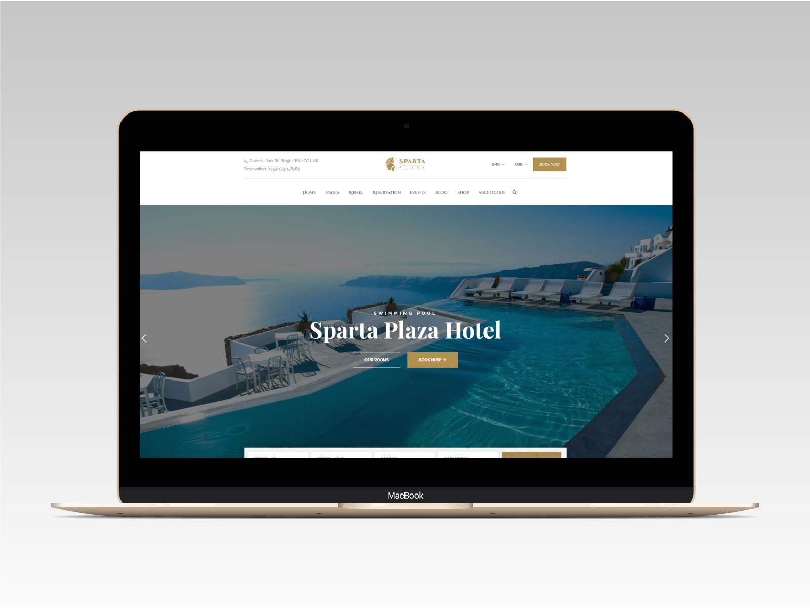Sparta   Hotel & Resort HTML5 Template - 13