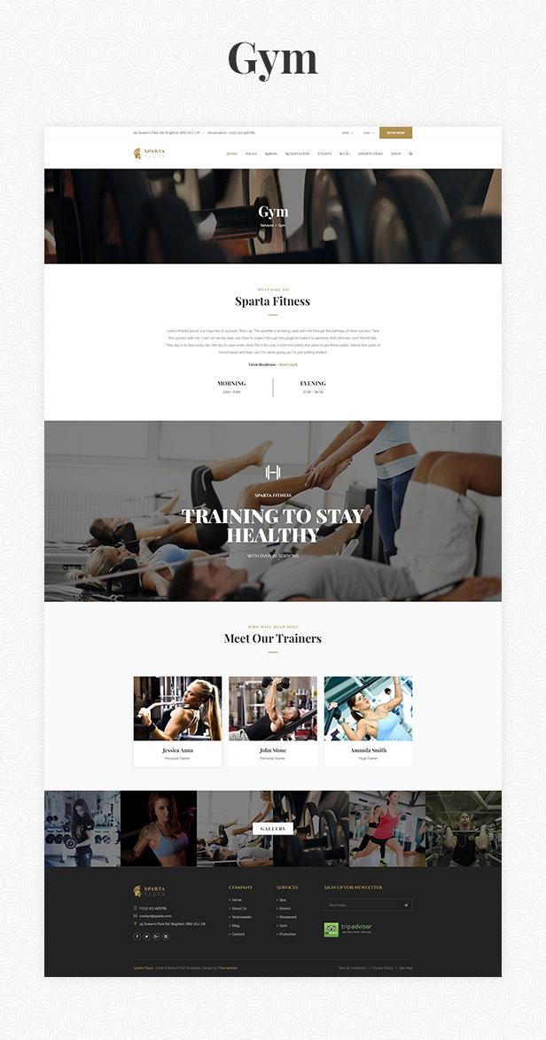 Sparta   Hotel & Resort HTML5 Template - 20