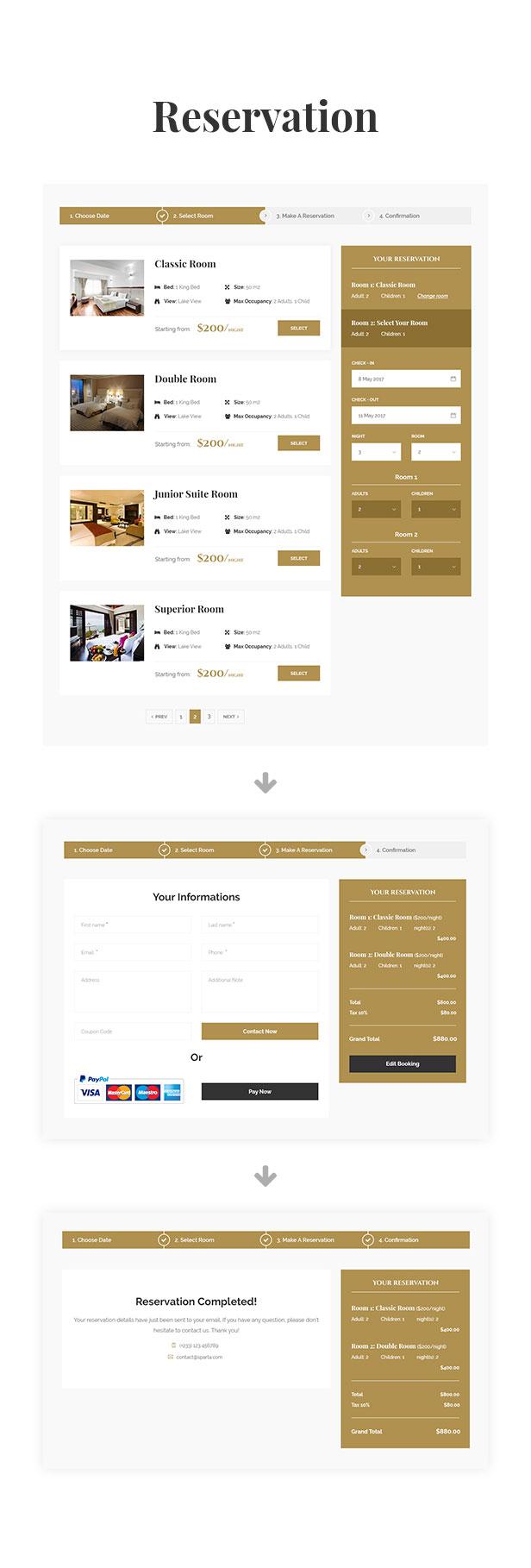 Sparta   Hotel & Resort HTML5 Template - 24