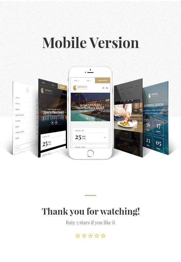Sparta   Hotel & Resort HTML5 Template - 25