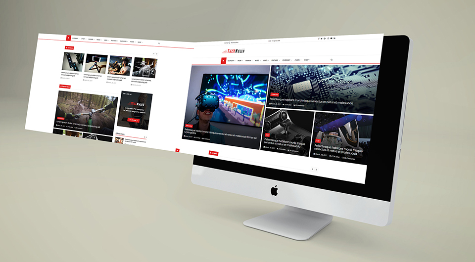 MaxNews | News & Magazine HTML Template - 8