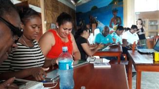 Formation de l'équipe de la Mairie de Laguna de Perlas