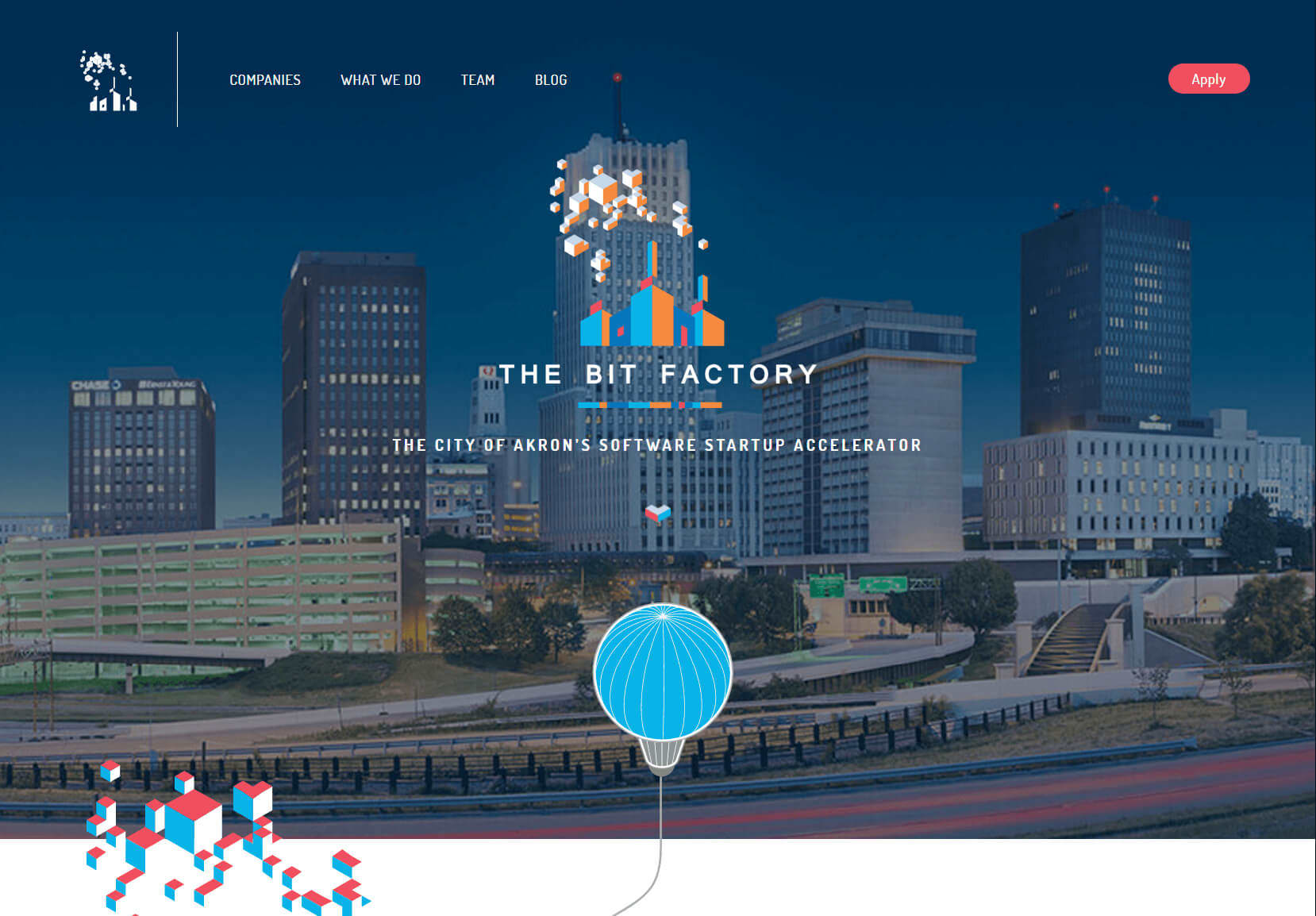 Homepage for the Bit Factory