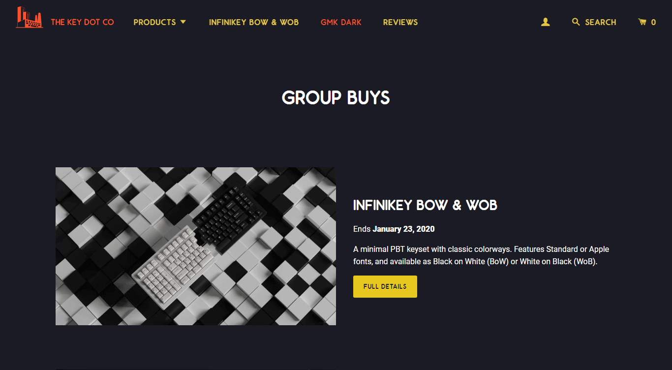 The Key.Company homepage